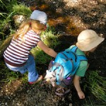 Use along-the-way activities so that children are ready to focus when they reach their destination